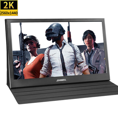 13.3 inch 2560x1440 Portable Monitor pc for PS4 Windows 7 8 10 Full HD LCD 2K HDMI IPS Screen gaming Monitor Ultra Thin Display