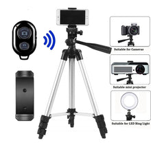 Load image into Gallery viewer, Tripod For Mobile Tripod Camera Dslr Stick Para Bluetooth Stand Monopod Cam Box Photo Holder Table Smartphone Tripod For Camera