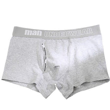 Load image into Gallery viewer, boxer mens underwear men cotton underpants male pure men panties shorts underwear boxer shorts  cotton solid cuecas 365