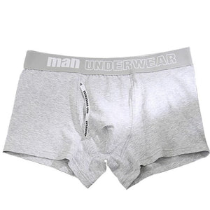 boxer mens underwear men cotton underpants male pure men panties shorts underwear boxer shorts  cotton solid cuecas 365