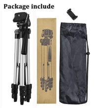 Load image into Gallery viewer, Mobile Phone Tripod Stand 40inch Universal Photography for Gopro iPhone Samsung Xiaomi Huawei Phone Aluminum Travel Tripode Para