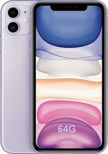 "Load image into Gallery viewer, Original New Apple iPhone 11 Dual 12MP Camera A13 Chip 6.1"" Liquid Retina Display IOS Smartphone LTE 4G Slow Selfie MI WIFI 6"