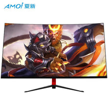 Load image into Gallery viewer, Amoi 24/27/32inch Curved Computer Monitor Screen for Gamer 75HZ 165HZ PC Gaming monitor Full Hdd input 5ms Respons HDMI/VGA