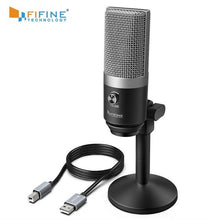 Load image into Gallery viewer, FIFINE USB Microphone for laptop and Computers for Recording Streaming Twitch Voice overs Podcasting for Youtube Skype K670