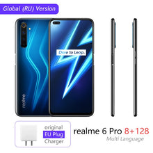 Load image into Gallery viewer, realme 6 Pro Global Version Mobile Phone 8GB RAM 128GB ROM 6Pro Snapdragon 720G 90Hz Display 30W Flash Charge 4300mAh Cellphone