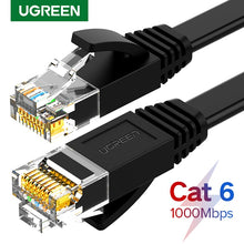 Load image into Gallery viewer, Ugreen Ethernet Cable Cat6 Lan Cable UTP CAT 6 RJ 45 Network Cable 10m/50m/100m Patch Cord for Laptop Router RJ45 Network Cable