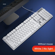 Load image into Gallery viewer, Gaming keyboard and Mouse Wired backlight keyboard mechanical keyboard Gamer kit Silent 3200DPI Gaming Mouse Set for PC Laptop