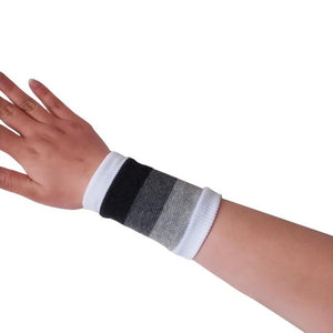 1PCS Cotton Wrist Support Wristbands Sport Sweatband Hand Band Sweat Wrist Support Brace Wraps Guards Gym Volleyball Basketbal