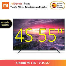 "Load image into Gallery viewer, Xiaomi Mi LED TV 4S 43"", 4S 55"", 4S 65"", 4K Ultra HD Smart TV WiFi Negro LED TV,LED,Smart TV,WiFi,Negro"