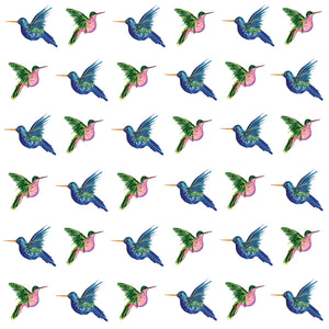 Highflying Hummingbirds (Organic Cotton)