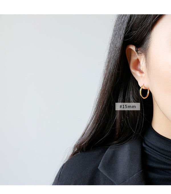AC Minimal Hoop Earrings