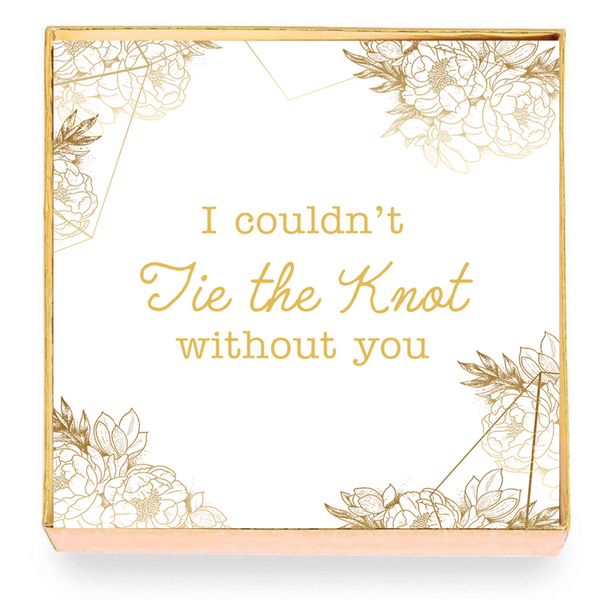 Tie the Knot Card with Gift Box