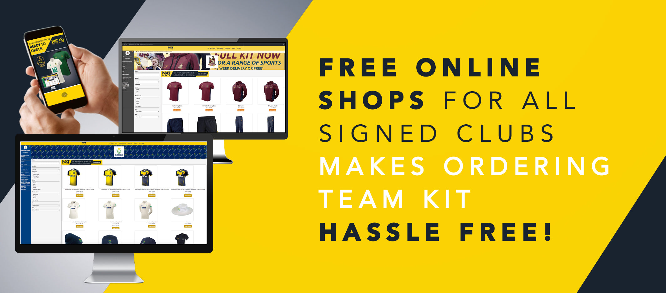 Free online cricket club shops