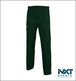 MENS COLOURED PLAYING TROUSERS (BOTTLE GREEN)