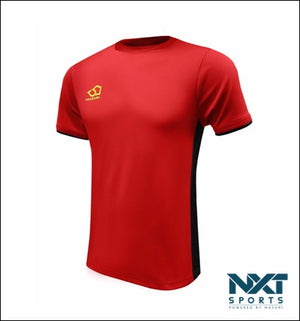 MENS TRAINING T-SHIRT (RED/BLACK)