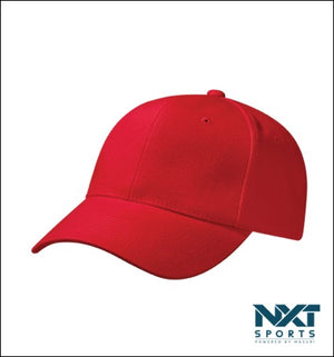 COTTON DRILL CAP (RED)