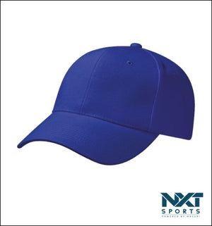 COTTON DRILL CAP (ROYAL BLUE)