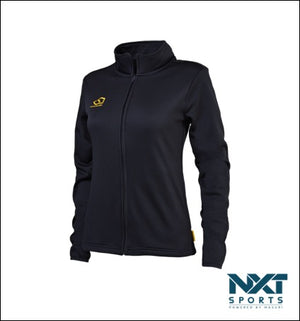 LADIES FULL ZIP TECH FLEECE (NAVY)