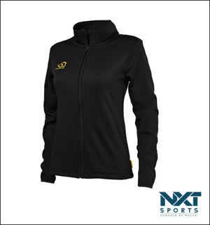 LADIES FULL ZIP TECH FLEECE (BLACK)