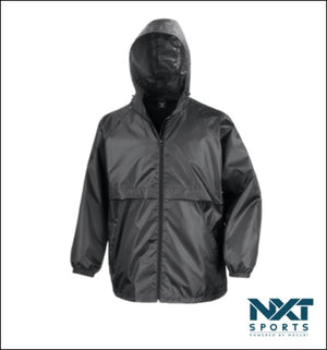 UNISEX RAINCOAT (BLACK)