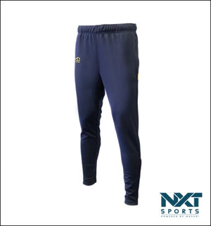 LADIES SLIMFIT TROUSERS (NAVY)