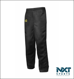 UNISEX TRACKSUIT BOTTOMS (BLACK)