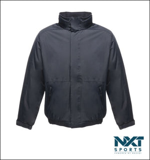 UNISEX WATERPROOF JACKET WITH FLEECE LINING (NAVY)