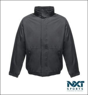UNISEX WATERPROOF JACKET WITH FLEECE LINING (BLACK)