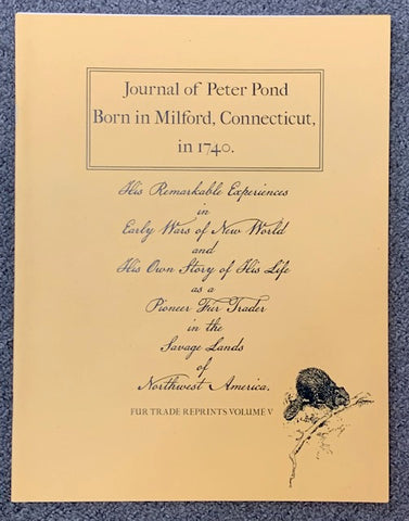 Peter Pond Journal Volume V