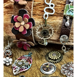 November 11, 12:30-3:30pm Leather Riveted Bracelet Class