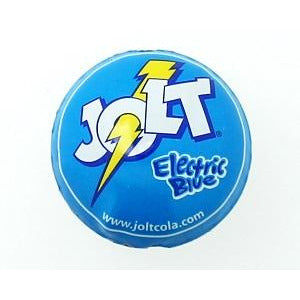 Jolt electric blue bottle cap bead