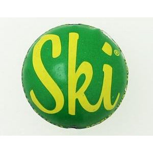 Ski bottle cap bead