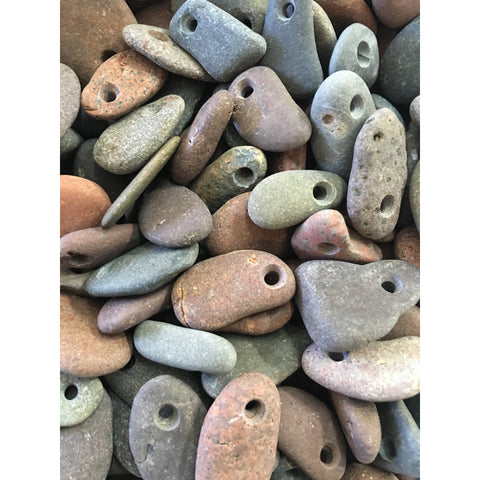 Medium Lake Superior beach stone pendant