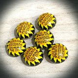 Solar Powered Brewery Bottle cap bead