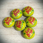 Sun Drop Bottle Cap Bead