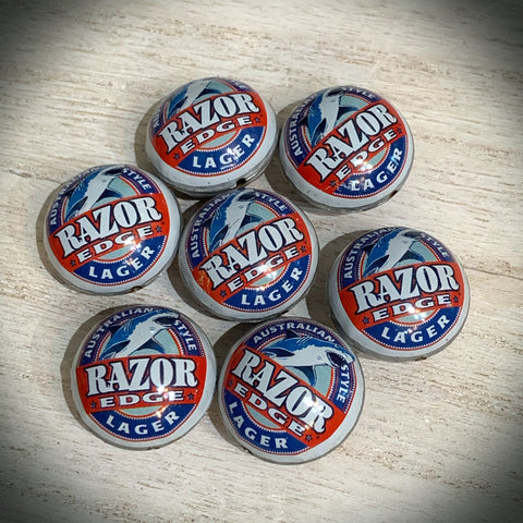 Razor Edge Lager Bottle Cap Bead