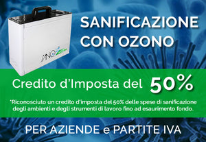 Sano3Med Pro sanificatore all'Ozono - linea Business