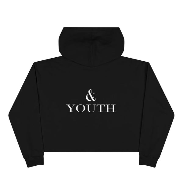 Beauty & Youth, Crop Top Hoodie