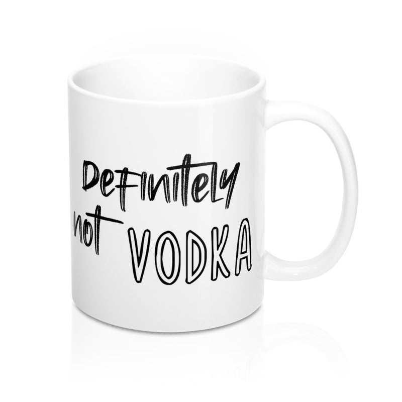 Definitely Not Vodka, Mug | Soap Dropper