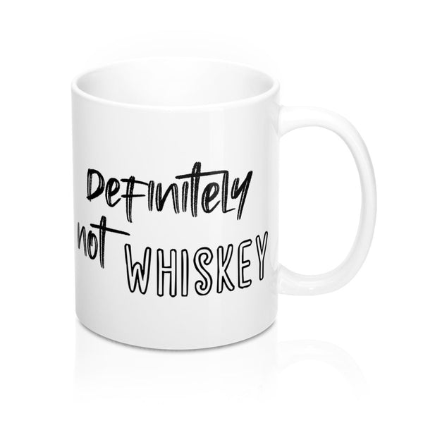 Definitely Not Whiskey, Mug - Soap Dropper