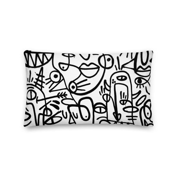Graffiti, Pillow + Cover