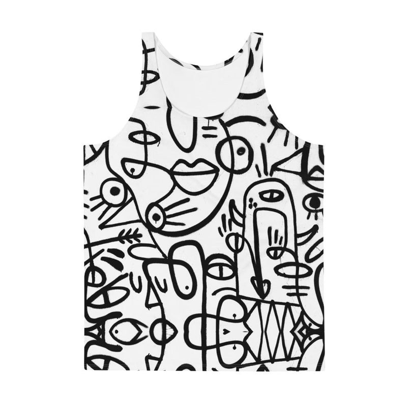 Grafitti, Relaxed Tank Top