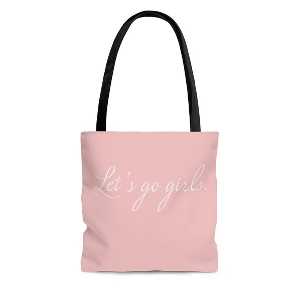 Let's Go Girls, Tote Bag