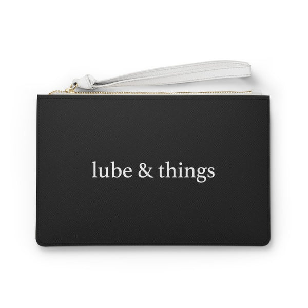 Lube & Things, Saffiano Leather Travel Bag