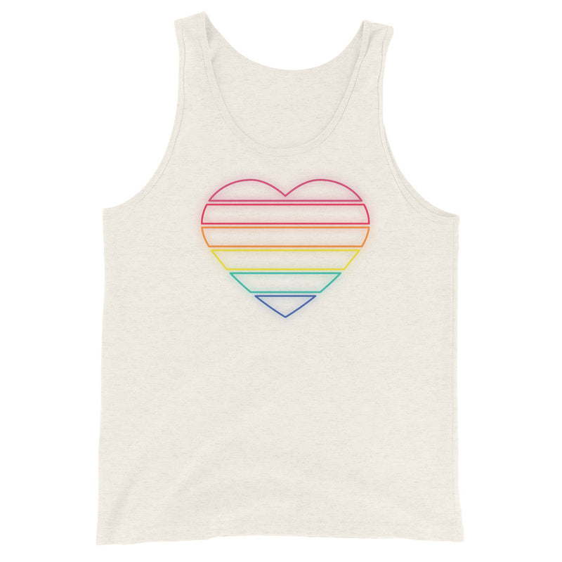 Pride Neon Heart, Joshua Tank - Soap Dropper