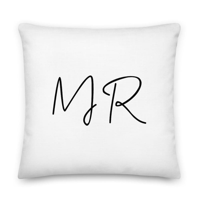 MR, Pillow + Cover | Soap Dropper