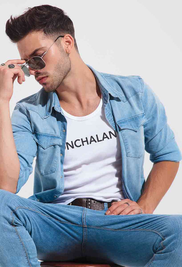 Nonchalance,  Fitted T-Shirt