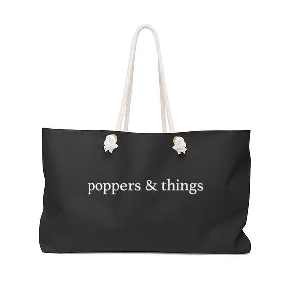 Poppers & Things, Weekender Bag - Soap Dropper