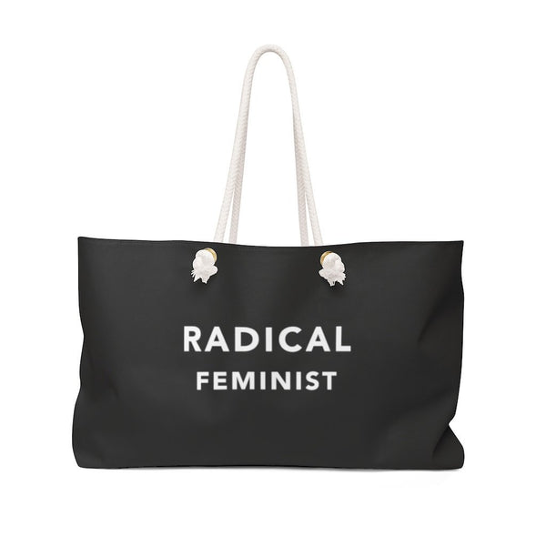 Radical Feminist, Weekender Bag - Soap Dropper