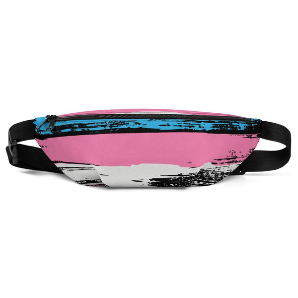 Transgender Pride Flag, Fanny Pack - Soap Dropper